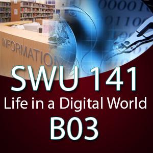 SWU141 ชีวิตในโลกดิจิทัล B03 ( 1-2563)