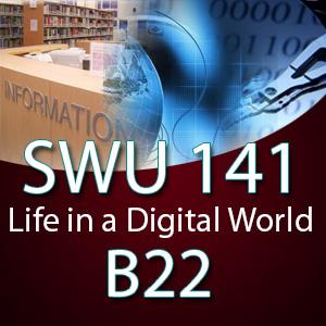 SWU141 ชีวิตในโลกดิจิทัล B22 ( 1-2563)