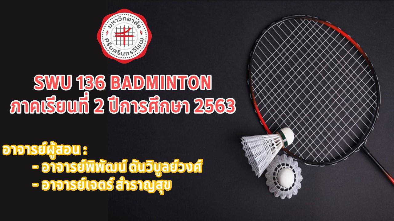 SWU136 Badminton