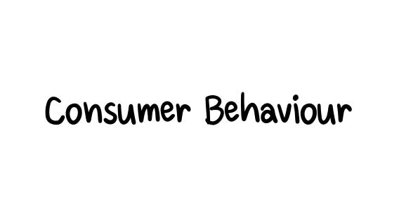 COS302 Consumer Behaviour - Communication for Innovation Management